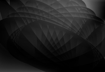 abstract wave background black