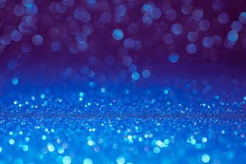 blue bokeh holiday textured glitter background