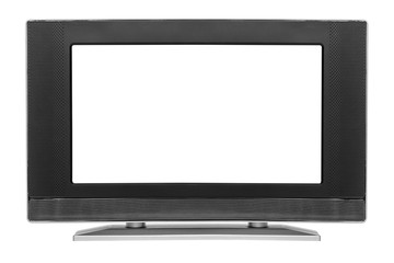 Monitor isolated on white.