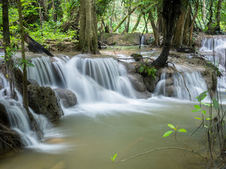 Waterfall in the forest ,Thailand