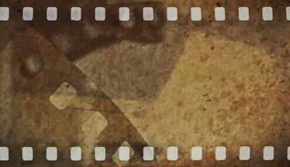 film strip grunge background
