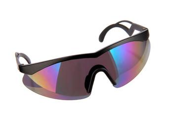 Bikerbrille freigestellte Sportbrille