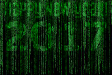 happy new year matrix 2017