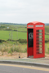 Phone Booth in Northern Ireland