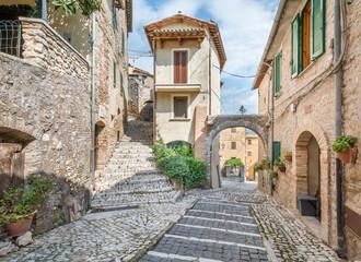 Casperia, medieval rural village in Rieti Province, Lazio (Italy) Wall mural