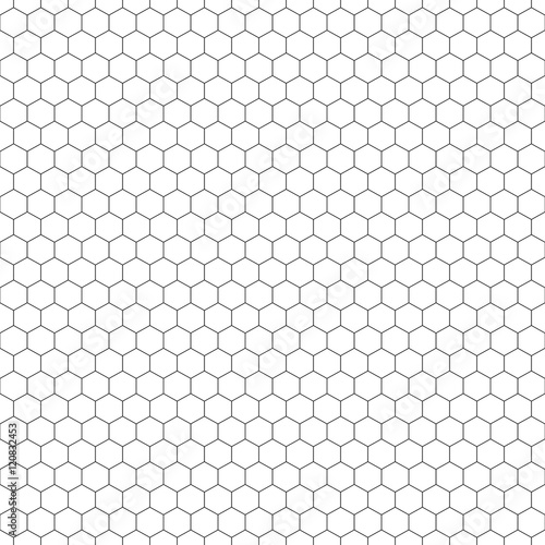 Quot Grid Seamless Pattern Hexagonal Graphic Design Vector