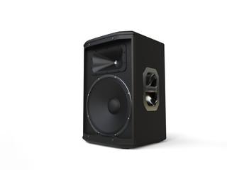 Small mid range loudspeaker - studio shot