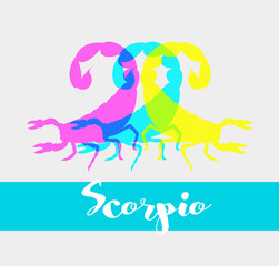 Colorful Scorpions Shapes