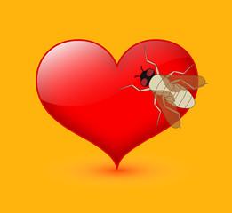 Bee on Heart