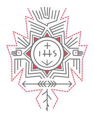 Religious indigenous symbols