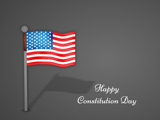 Constitution Day background