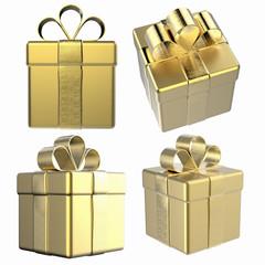 gift box isolated on white