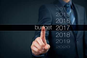 Budget for year 2017