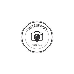 Photography Badge Creative Logo Design