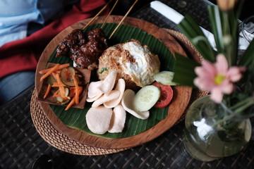 Plat Balinais, Indonésie
