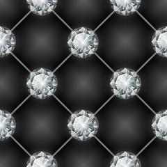 seamless diamond pattern. Vector illustration
