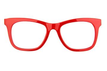 rote Brille freigestellt
