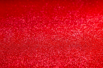 Red glitter background.