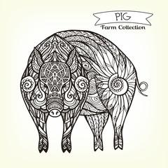 Decorative Pig