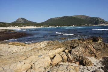 Felsenküsten am Mittelmeer