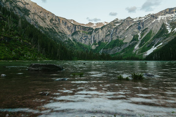 Rocky mountains, Glacier National Park, Montana, Canada, United States of America