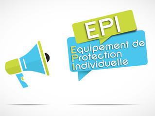 mégaphone : EPI