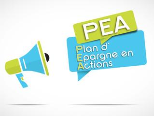 mégaphone : PEA
