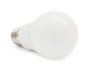 led energy saving light  isolated