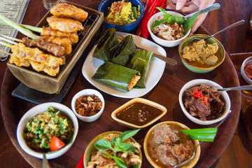 Delicious meal of Bali