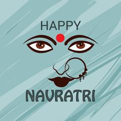 happy navratir celebration background.