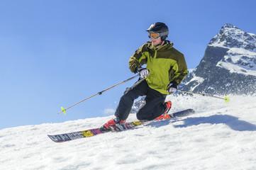 spektakuläre Telemark-Shots