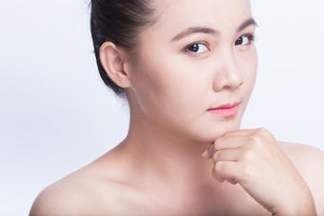Beauty shot of asian girl