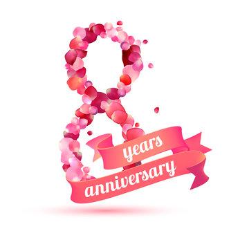 eight (8) years anniversary