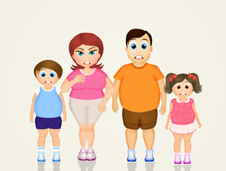family overweight