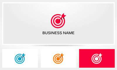 Target Bullseye Aim Arrow Logo