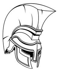 Trojan or Spartan Gladiator Warrior Helmet