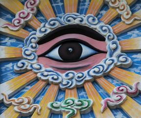 My Tho, Cao Dai Tempel.