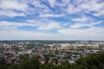 Panorama of Lviv