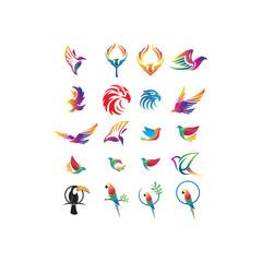 20 Eagle Logo Elements