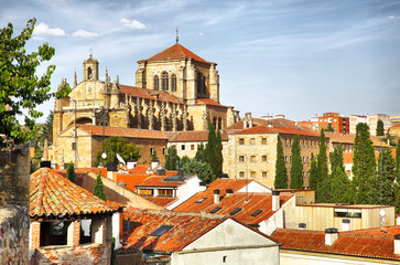 Wall Mural - Convent of St. Stephen in Salamanca