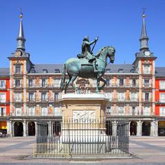 Wall Mural - Plaza Mayor in Madrid