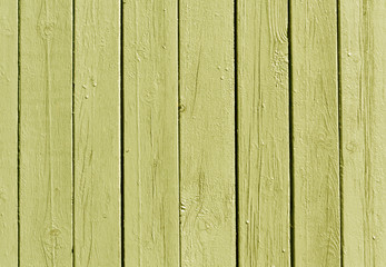 Yellow wooden fence texture.