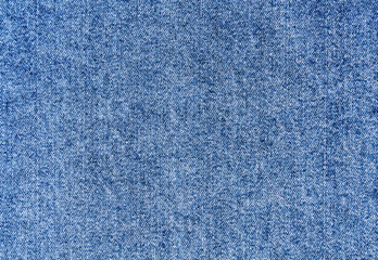 Blue jeans cloth pattern.