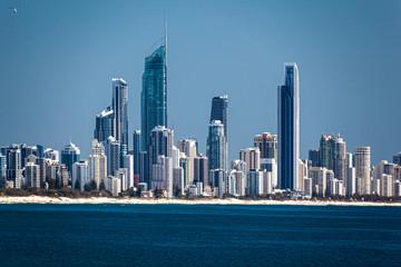 City Scape  Surfer Paradise  Australia