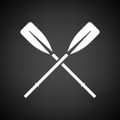 Icon of  boat oars