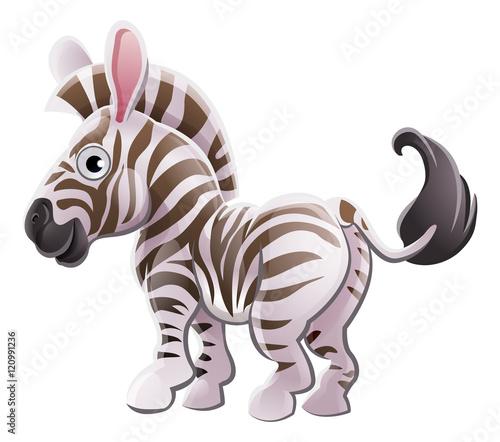 Cartoon Characters Zebra : Quot zebra animal cartoon character stock image and royalty