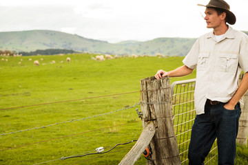 Aussie sheep farmer