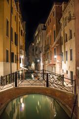 Venise Ponte Duodo O Barbarigo de nuit nocturne