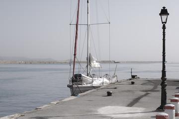 Yacht in Heraklion