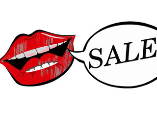 Lips with sale bubble